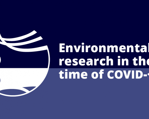 Environmental research in the time of COVID-19 – researchers write about the effects of the corona crisis in a new blog series